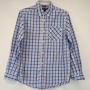 Tommy Hilfiger Tattersall Checkered Shirt 16/18